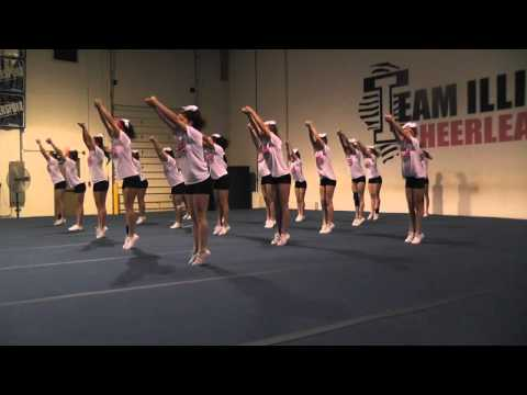 Nfinity cheer shoes commercial