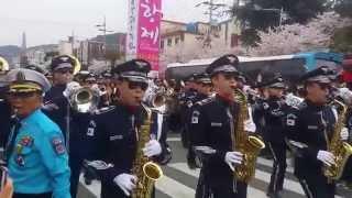 2015진해군항제 공군군악대 거리공연