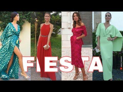 Vestidos De Fiesta De Moda 2019 Tendencias Para Bodas