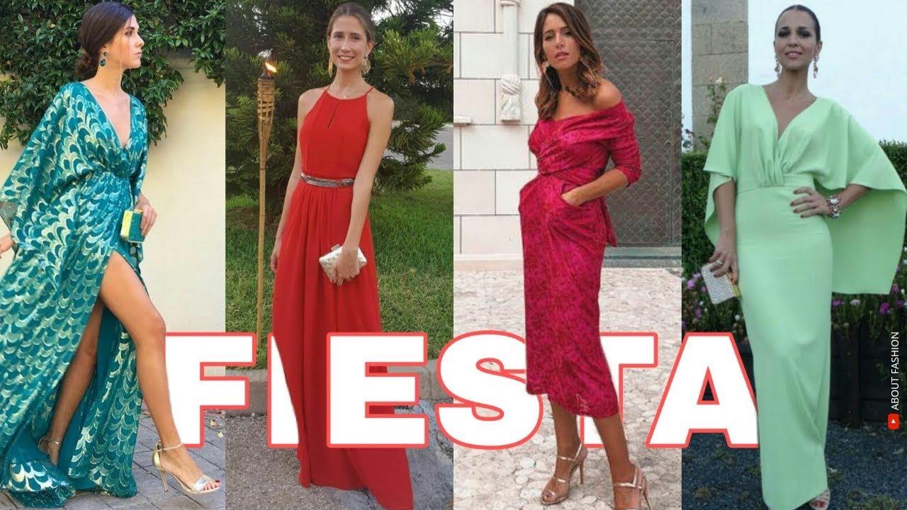 Vestidos De Fiesta De Moda 2019 Tendencias Para Bodas Graduaciones Vestidos Largos Y Cortos