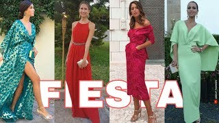 Vestidos De Fiesta De Moda 2020 Tendencias Para Bodas Graduaciones Vestidos Largos Y Cortos Youtube
