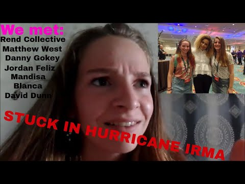 Hanging out with celebrities while stuck in HURRICANE IRMA!!!| Florida vlog 5