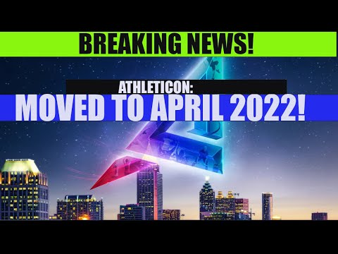 Athleticon moved to 2022!!  | ASK RON LIVE