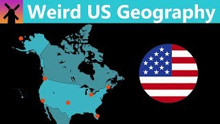How the Geography of the US is Weirder Than You Think by : RealLifeLore