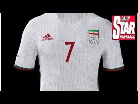 Iran delay Adidas 2018 World Cup kit reveal - YouTube f014be824