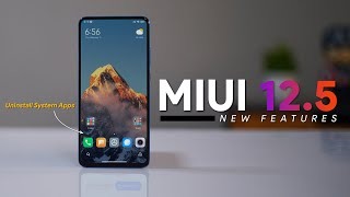 7 New MIUI 12.5 Features and Changes