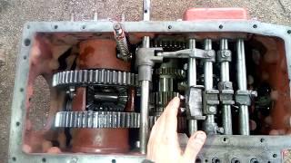 Ремонт Т-25 Часть 2 Сборка коробки  T-25 tractor box restoration
