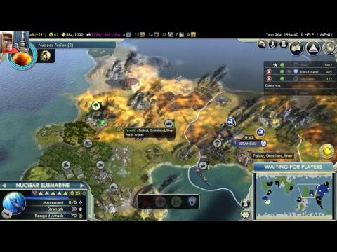Sid Meier's Civilization V An Epic Nuking Catatrophy