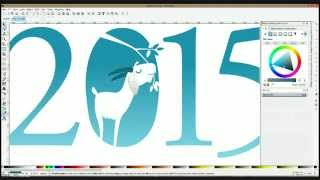Chinese new year 2015 Inkscape live drawing