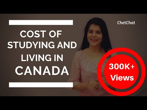 Cost of Studying & Living in Canada for International Studen