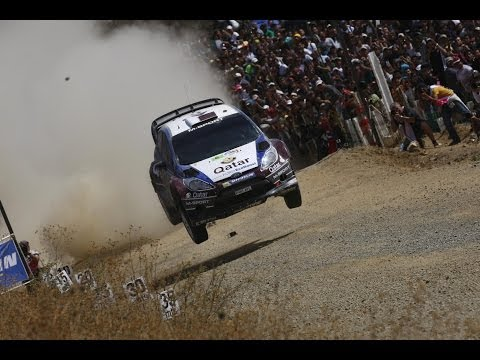 Nasser Al Attiyah reality TV show episode 3 WRC of Acropolis by QTV