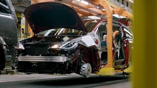 Chrysler Pacifica Hybrid Production at Windsor Assembly Plant, Ontario