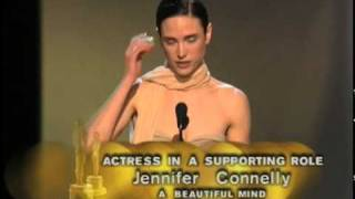 Jennifer Connelly Wins Supporting Actress: 2002 Oscars