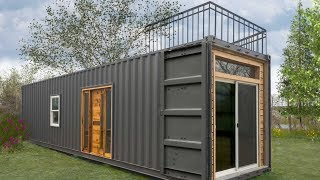 Freedom Tiny Containers Home by Minimalist Homes