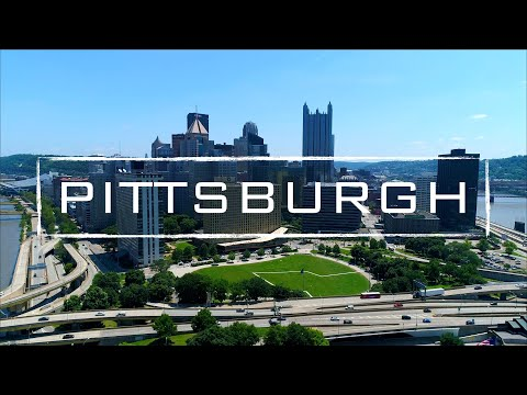 Pittsburgh, Pennsylvania | 4K Drone Footage