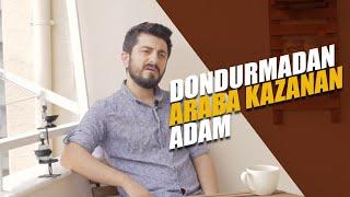 DONDURMADAN ARABA KAZANAN ADAM  Röportaj Adam 01journos