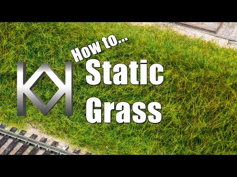 Model Railway Train Scenery -Remarkable Concepts For How to make Static Grass look Amazing