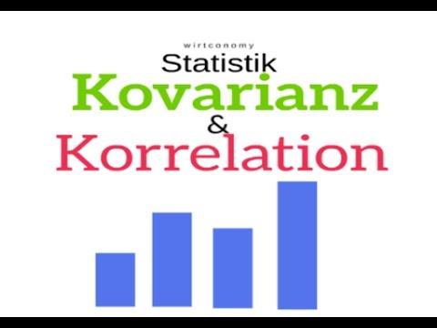 Kovarianz und Korrelationskoeffizient in der Statistik | Beispielaufgabe | wirtconomy