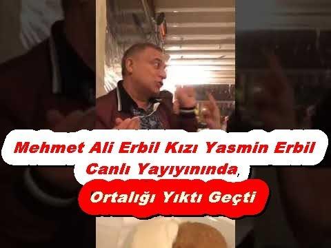 Mehmet Ali Erbil Kızı Yasmin Erbil Canlı Yayıyında | Magazin D | Magazin TV