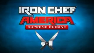 Iron Chef America Supreme Cuisine Wii Gameplay
