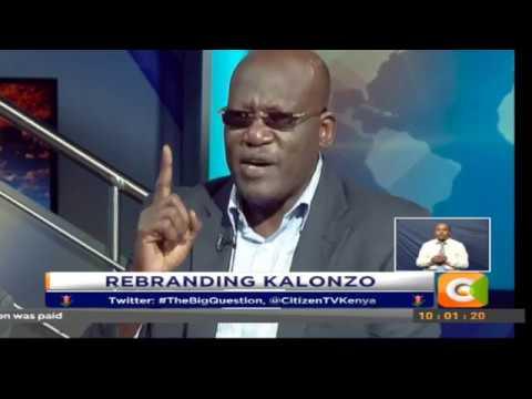 The Big Question | Rebranding Kalonzo