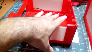 My 3D Printed Mini Itx NAS Case