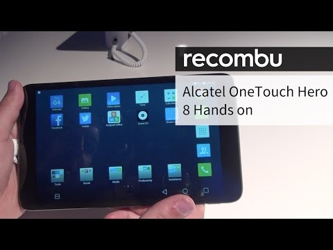 Alcatel OneTouch Hero 8 hands-on
