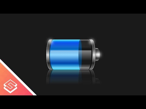 Inkscape Tutorial: Vector Battery Graphic