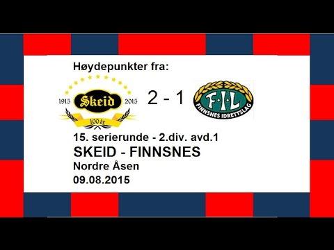 Høydepunkter og intervjuer fra Skeid - Finnsnes 09.08.2015
