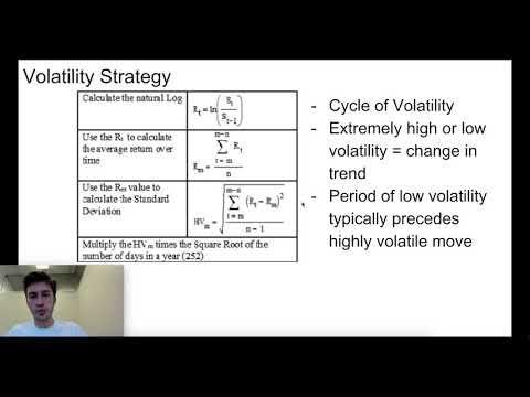 Bitcoin Data (Volatility + TPM)