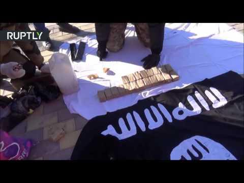 Флаг ИГ и два взрывных устройства нашли в доме боевиков в Назрани