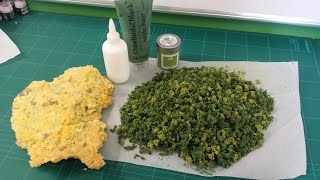Cheap and easy clump foliage (Frugal Wargames Foliage)