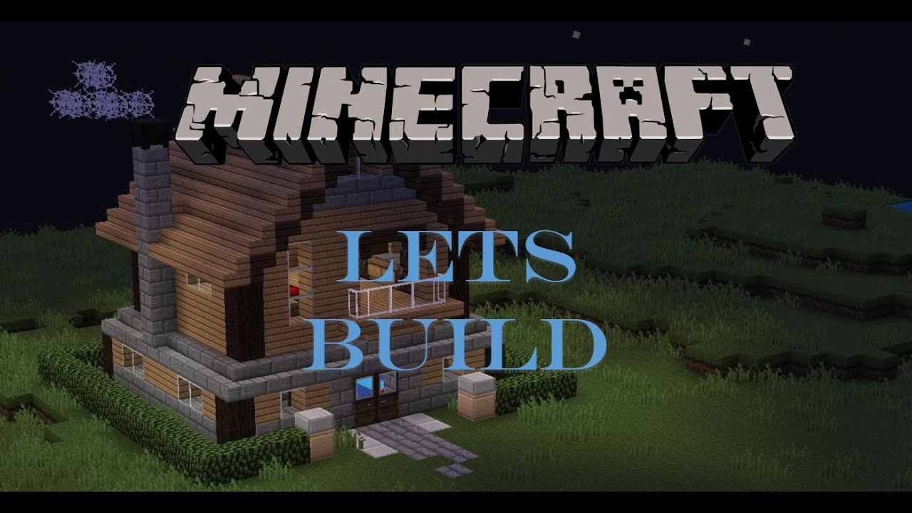 Minecraft Lets Build Medium Sized House Youtube