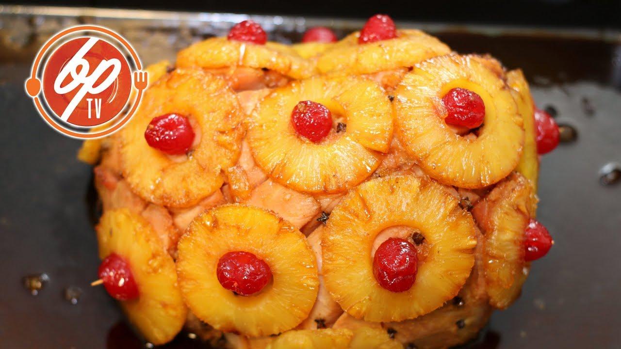 Jamon Y Con Receta De Pina Cerezas