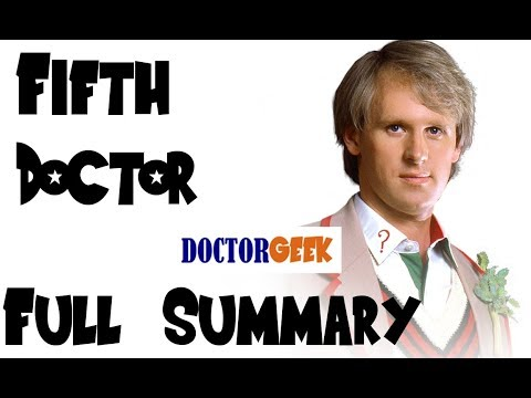 12 Doctors of Christmas: 5th Doctor - FULL SUMMARY