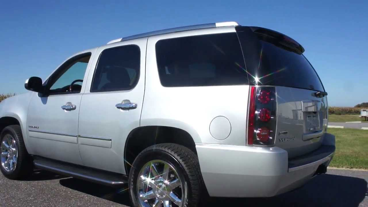 2012 GMC Yukon Denali For Sale~170 Miles~Like Brand New ...