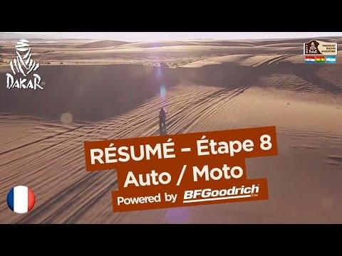 Résumé de l'Étape 8 - Auto/Moto - (Uyuni / Salta) - Dakar 2017