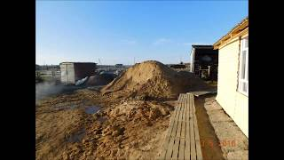 видео Баня из керамзитобетонных блоков: фундамент, утепление, отделка