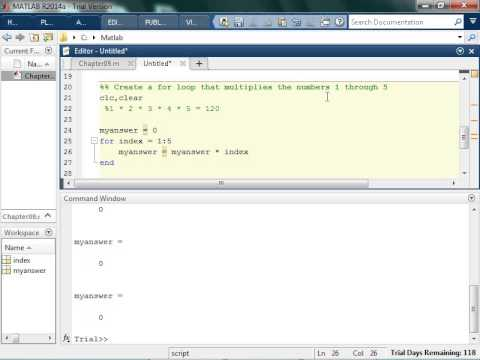 Writing a Factorial with For Loops
