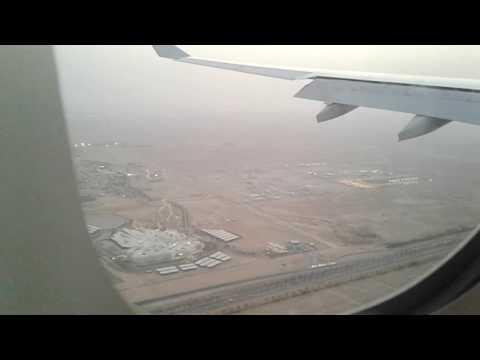 Landing at Riyadh Saudi Arabia from NAIA