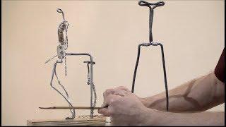 Уроки скульптуры и рисунка: каркасы для скульптурных этюдов фигуры человека
