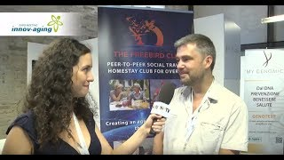 "Freebird Founder interview at ""Innov-Aging"" expo in Italy"