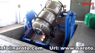 Rock N Roll Water Tank Making Machine - NAROTO