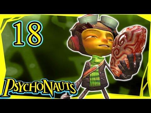 Let's Play Psychonauts Part 18 - Asylum Scaling [Gameplay/Walkthrough]