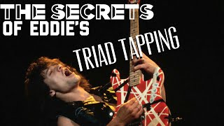 The Magic of Eddie Van Halen's Triad Tapping - Fretboard visualization secrets with Uncle Ben Eller