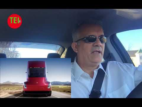 New Tesla Roadster and Semi.