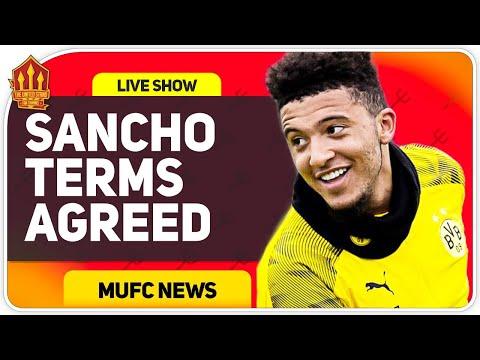 Sancho Agrees Terms? Man Utd Transfer News