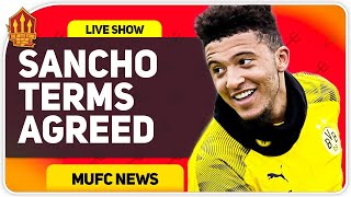 Sancho Agrees Terms? Man Utd Transfer News