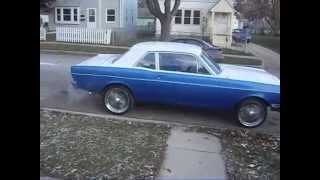 68 ford falcon on 20s