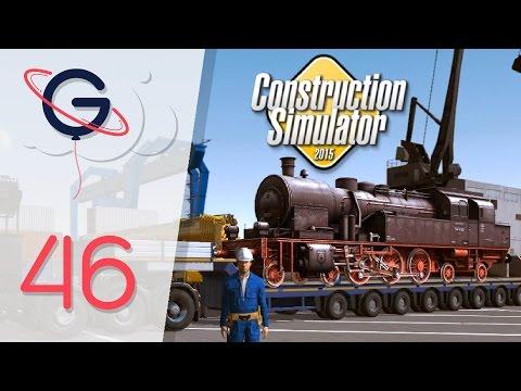 UNE LOCOMOTIVE HISTORIQUE ! (Transport lourd) - Construction Simulator 2015 FR #46